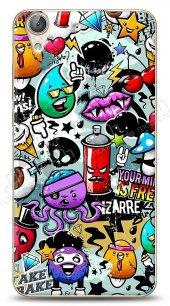 Huawei Y6 ii Grafitti 2 Kılıf