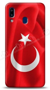 Samsung Galaxy A20S Türk Bayrağı Kılıf