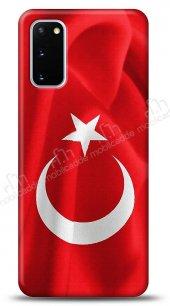 Samsung Galaxy S20 Türk Bayrağı Kılıf