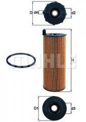 YAG FILTRESI TOUAREG 3.0TDI-3.0 V6 TDI 06-10-A4 04-08-A5 04-11-A8 03-10-Q5 08-Q7 06-10 MAHLE OX196.1DECO