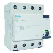 Siemens,Kaçak Akım Koruma 80A,30mA, Trifaze 5SM1347-0