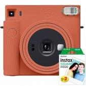 Fujifilm İnstax SQ1 Fotoğraf Makinesi + 20 Lİ FİLM (TURUNCU)