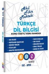 Akıl Fikir Mektebi Türkçe Dil Bilgisi Konu Özetli Soru Bankası