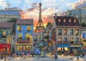 Anatolian Puzzle 3000 Parça Paris Sokakları