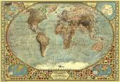 Anatolian Puzzle 2000 Parça Dünya Haritası