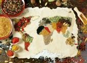 Anatolian Puzzle 1000 Parça Baharatlı Dünya Haritası
