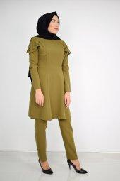 Erb Pelerinli Takım Elbise Mc0034 Haki