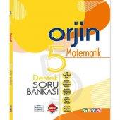 Gama Yayınları 5. Sınıf Orjin Matematik Destek Soru Bankası