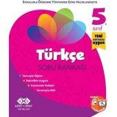 4x4 Yayınları 5. Sınıf Türkçe Soru Bankası