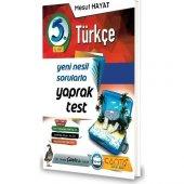 Çanta Yayınları 5. Sınıf Türkçe Yeni Nesil Sorularla Yaprak Test