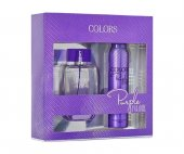 Rebul Colors Purple Paradise Edt 75 Ml Kadın + Deo