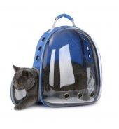 Hamaha Ksoto Astronot Kedi Köpek Sırt Taşıma Çantası Mavi