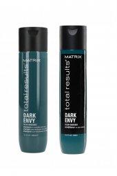 Matrix Dark Envy Color Obsessed Şampuan 300ML+Saç Kremi 300ML
