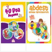 Nesil Çocuk Yayınları 40 Dua Boyama Kitabı & Abdest Almayı Öğreniyorum Ücretsiz