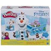 Hasbro Play Doh Disney Frozen Olafın Kızağı E5375