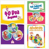 Nesil Çocuk Yayınları 40 Dua Boyama Kitabı & 40 Salavat Boyama Kitabı & Abdest Almayı Öğreniyorum Ücretsiz
