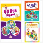 Nesil Çocuk Yayınları 40 Dua Boyama Kitabı & 40 Hadis Boyama Kitabı & Abdest Almayı Öğreniyorum Ücretsiz