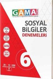 Gama 6. Sınıf Sosyal Bilgiler Denemeleri