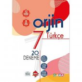 Gama Orjin 7. Sınıf Türkçe Fasikül Deneme