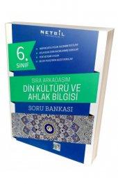 Netbil 6. Sınıf Din Kültürü Sıra Arkadaşım Soru Bankası