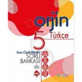 Gama Orjin 5. Sınıf Türkçe Konu Özetli Soru Bankası