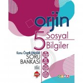 Gama Orjin 5. Sınıf Sosyal Bilgiler Konu Özetli Soru Bankası