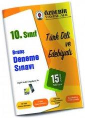 Özdebir 10. Sınıf Türk Dili Edebiyatı Branş Deneme