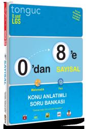 Tonguç 0 Dan 8 E Sayısal Konu Anlatımlı Soru Bankası