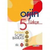 Gama Orjin 5. Sınıf Türkçe Destek Soru Bankası