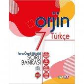 Gama Orjin 7. Sınıf Türkçe Konu Özetli Soru Bankası