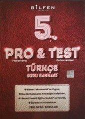 Bilfen 5. Sınıf Türkçe Pro-Test Soru Bankası
