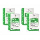 NaturalNest 1,3/1,6 Beta Glukan Çinko Vitamin C İçeren Takviye Gıda 30 Kapsül 4 Kutu