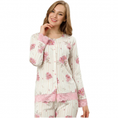 Pijama Takımı Çiçek (L)