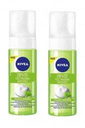 Nivea Urban Skin Detox Yüz Yıkama Köpüğü 150 ml X 2 Adet