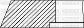 PISTON SEGMANI 125.00MM STD 3.0 X 3.0X 4.0 MERCEDES OM401-OM402-OM403 TURBOLU YENMAK 91-09645-000