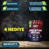 Ssn Creatine Refuel Aromasız 350 gram - Kreatin - **2 Hediyeli**
