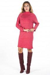 Kırmızı Düz Elbise