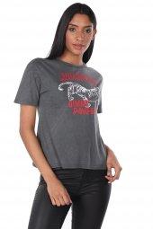 Markapia Baskılı Kadın T-Shirt