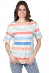 Markapia Püskül Detaylı Kadın T-Shirt