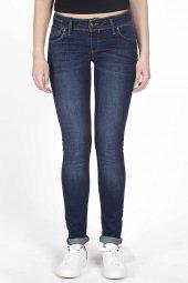 Blue White Kadın Düşük Bel Jean Pantolon