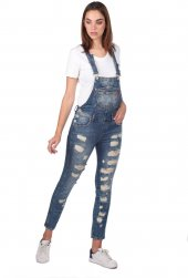 Blue White  Kadın Jean Tulum Pantolon