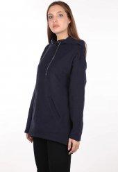 Markapia Oversize Kapüşonlu Sweatshirt