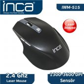 Inca IVM-515 1300-3600 High Dpi Low Power Laser Wireless Mouse