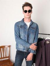 Mavi Erkek Jean Ceket