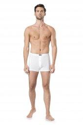 Pierre Cardin Erkek  Penye Beyaz Boxer (2Li)