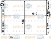 MOTOR RADYATORU BMW F10 F01 F02 N52 N53 BEHR 8MK376777-304