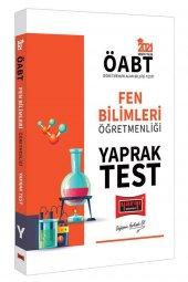 2021 ÖABT Fen Bilimleri Öğretmenliği Yaprak Test Yargı Yayınları
