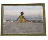 1500 Parça Puzzle Çerçevesi -Yeşil - 60*85 - 50 mm