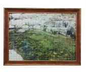 1500 Parça Puzzle Çerçevesi -Vişne - 60*85 - 50 mm