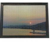 1000 Parça Puzzle Çerçevesi -Kahve - 48*68- 40 mm